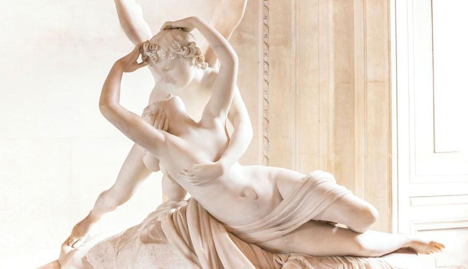 La sessualità rappresentata nella statua di Amore e Psiche