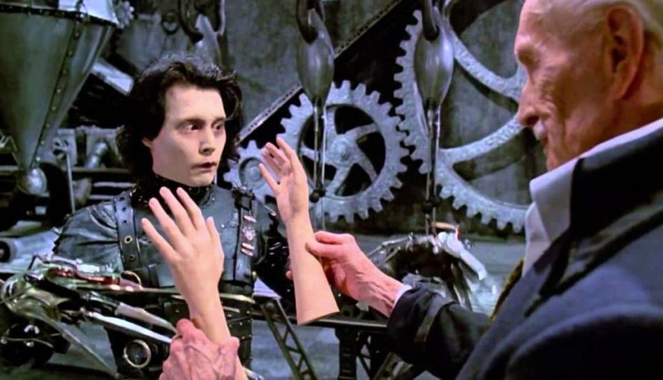 Edward mani di forbice: una favola poetica e ironica