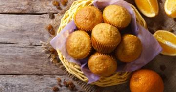 Immagine per l'articolo: Muffin all'arancia