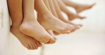 """Immagine per l'articolo: Bambini """"piedi piatti"""""""