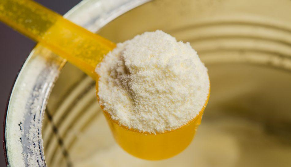Latte di formula in polvere