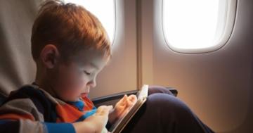 Immagine per l'articolo: Bambini in aereo: ci sono precauzioni da prendere?
