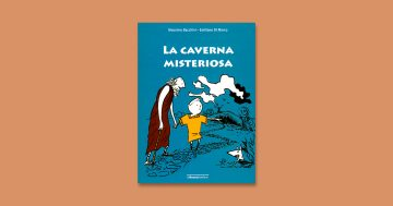 Copertina del libro La caverna misteriosa