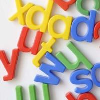 Lettere magnetiche per bambini