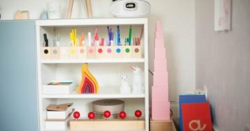 Stanza Montessori a misura di bambino