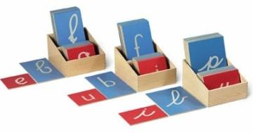 Lettere sensoriali per lo sviluppo del linguaggio