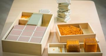 Materiali del metodo Montessori