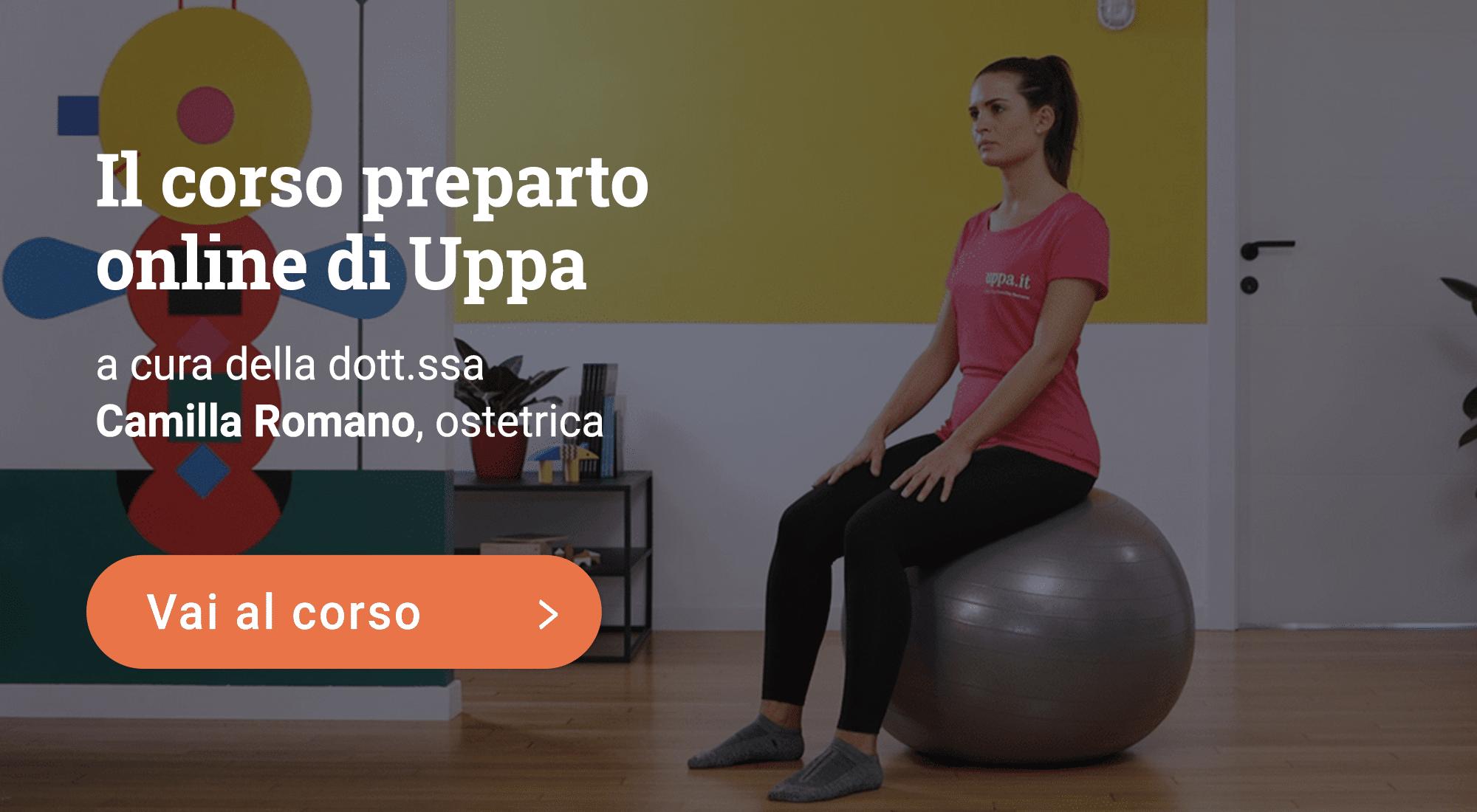 Corso preparto online di Uppa
